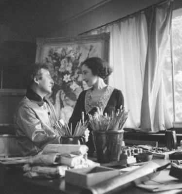 LES BAUX INTIMITE CHAGALL © Archives Marc et Ida Chagall, Paris
